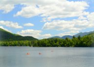 Mirror Lake, in Lake Placid, NY