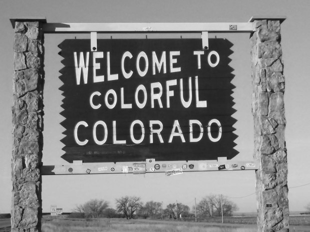 Welcome to Colorado BW