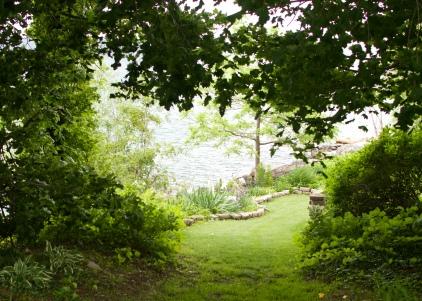 Garden by Lake Ontario